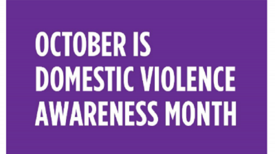 October is Domestic Violence Month - 2021
