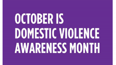 October Is Domestic Violence Month - 2019