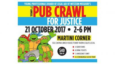 YPB's 5th annual Pub Crawl for Justice - Kansas City, MO